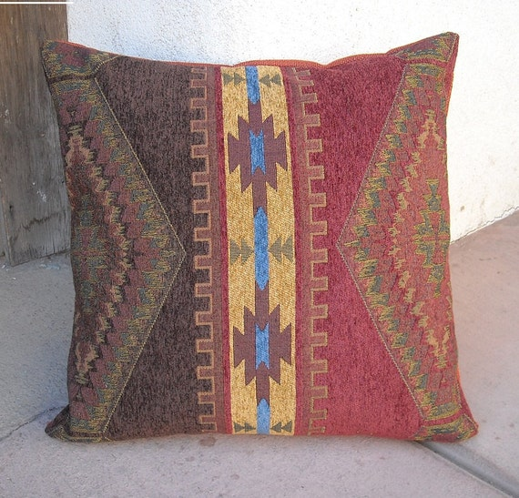 Southwestern Pillows And Throws : Southwestern Pillow Cover 18x18