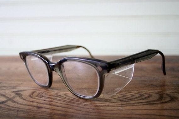 vintage horn rimmed glasses