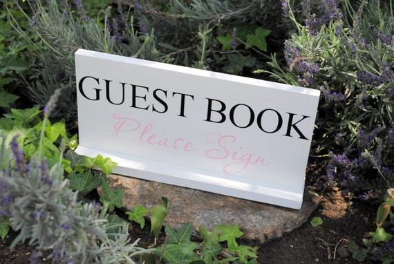 Custom Guest Book Wedding Sign Custom Wood Sign 8x16 wedding photo prop