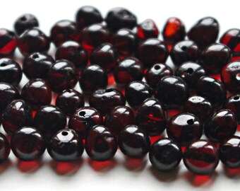 Baltic Amber beads with drilled hole. 500 pcs