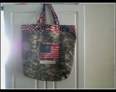 Special Order Military Momma Tote in ACU