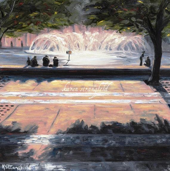 Back Bay Fountain