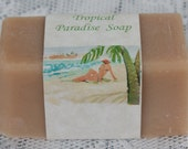 Tropical Paradise Beer Soap