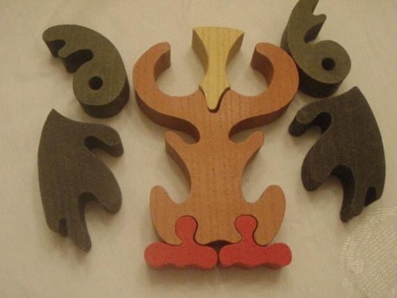 Owl Wood Puzzle