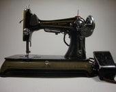 Wards Brunswick Vintage Sewing Machine