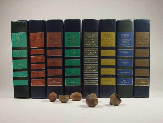 Eight Readers Digest  Condensed Books