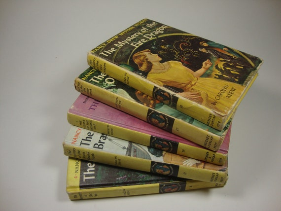 Reserve for Marilyn    Nancy Drew Mystery Stories, Ranging from 1940 to 1969