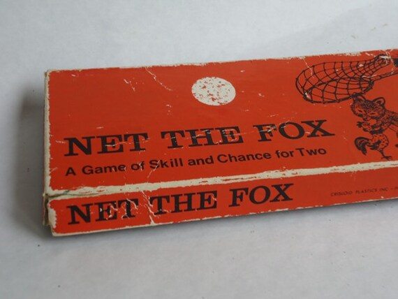 Vintage Game, Net The Fox, Vintage Toy
