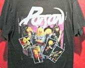 Original 1988 Poison Vintage concert t shirt