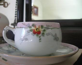 1890-1921 NIPPPON teacup and saucer