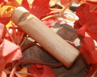 Barkless Tree Branch Wood Whistle Scouting Accessory Hiking Camping Nature Lover Reenactment Reenactor Bulk Orders and Discounts Available