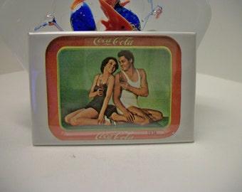 Vintage Coca Cola Pocket Mirror