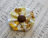 Yellow Hair Flower