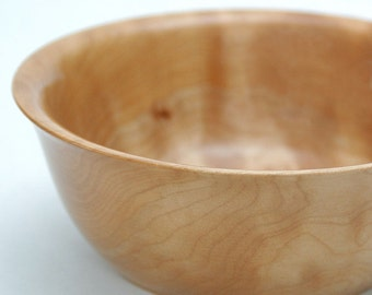 Highly Figured Quilted Maple Bowl FB5102