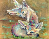 Wise Creatures - Large Fine Art Print