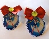 Sailor Moon cameo earrings