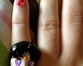 Sailor Mars adjustable ring