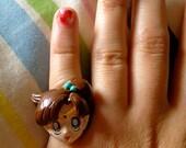 Sailor Jupiter adjustable ring