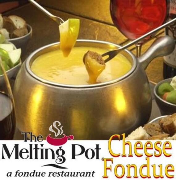 items similar to the melting pot cheese fondue recipe favorite on etsy