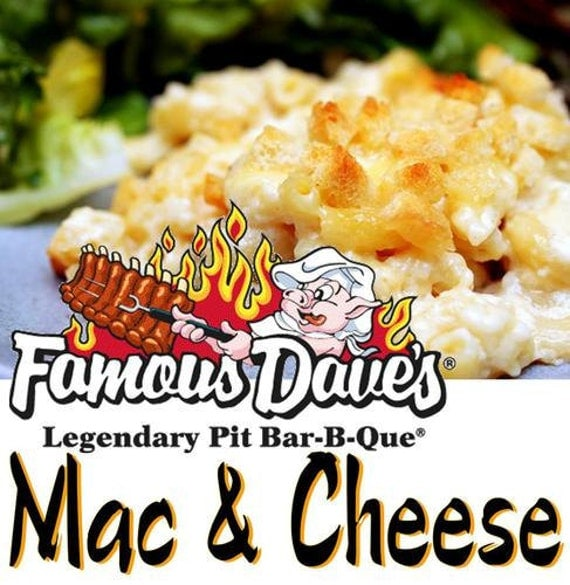 Famous Dave's, Marvelous Mac & Cheese Recipe