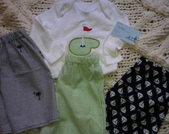 Boys  Masters Golf Shorts set