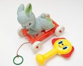 Vintage Toddler's toys