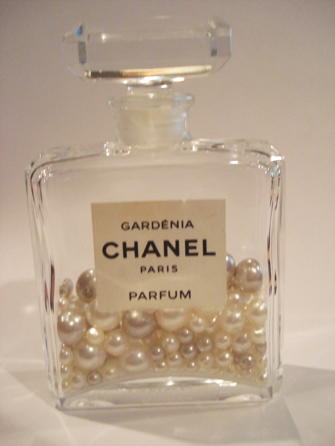 Authentic Gardenia Chanel Paris Medium Parfum Perfume Bottle