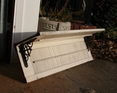Custom Shutter Shelf