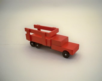 Wood Farm Truck,  A Toy For Kids, Wood Truck,Wood Toy Car,Wood Toy Truck, Classic Wood Toy, Classic wood toy Truck,