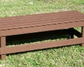 Outdoor  Bench,Coffee Table, Garden Bench ,Wood  Deck Bench, Patio Wood Bench,Garden Bench, Yard Wood Bench