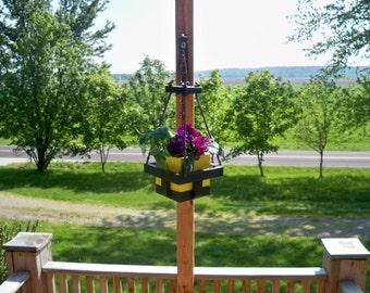 Hanging Flower Pot Planter, Indoor Hanging Planter, Hanging Plant, Garden Decor, Deck Hanging Planter, Patio Flower Hanging Planter