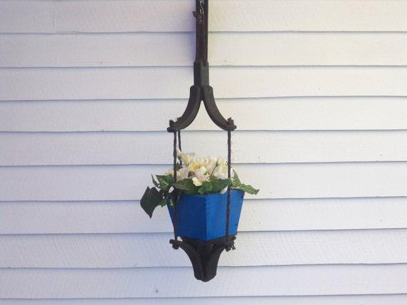 Outdoor Hanging Planter, Indoor Hanging Planter,Hanging Plant,Deck Hanging Planter, Patio Hanging Planter,  Hanging Flower Pot Planter,