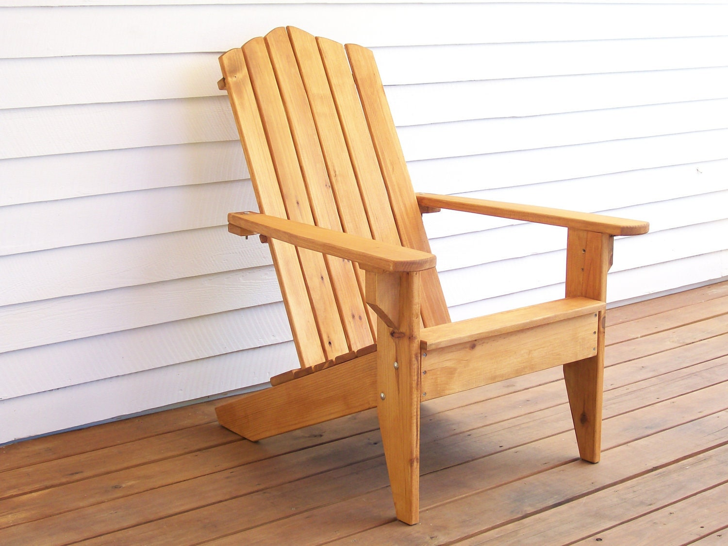 Adirondack wood chair adirondack furniture outdoor wood for Wooden furniture