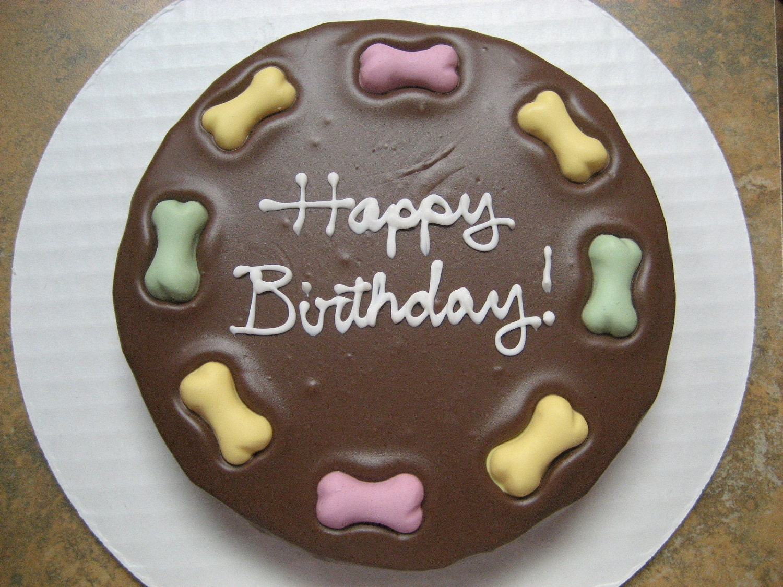 Happy Birthday Puppy Cake
