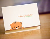 Boy Baby Shower Thank-You Card Set of 30