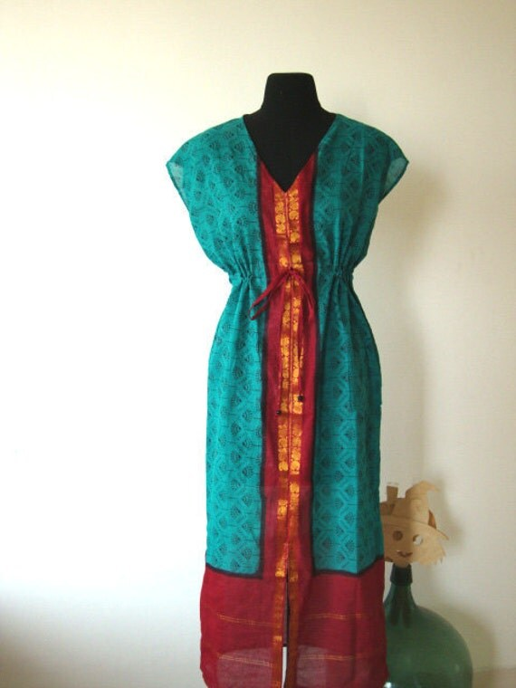 Women Maxi dress kaftan caftan evening wear lounge wear tea dress sundress