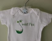 Sweet Pea - Nickname Onesie