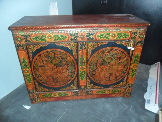 Authentic Antique Cabinet From Shanna, Tibet