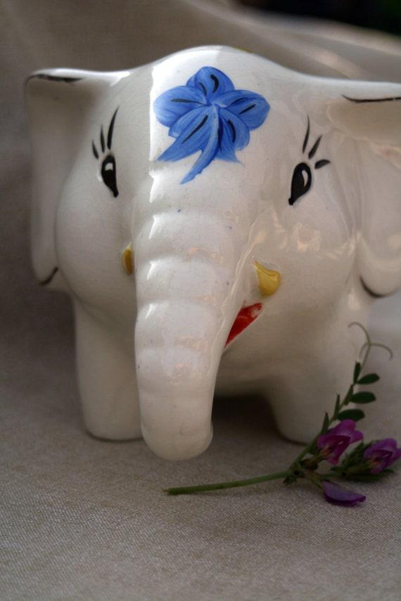 Elephant - Elephant Piggy Bank - Arthur Wood of England 1960s or 1970s