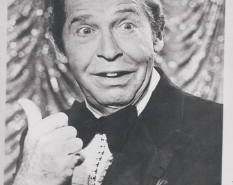 Uncle Miltey MILTON BURL 8x10 Black and White Photo  1980s