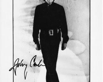 Johnny Cash Autograph - Original