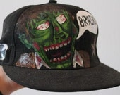 Zombie Cap/ hat / Snapback / Size Adjustable