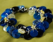 Starry Night Button Bracelet RESERVED for PerchancetoDream86