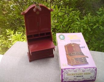 dollhouse furniture LITTLE HOSTESS DESK  by Marx.