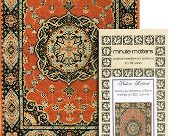 Dollhouse Carpet Pattern - Potters Retreat