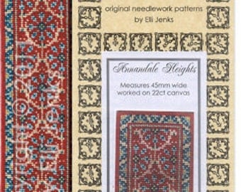 Dollhouse Carpet Pattern - Annandale Heights Stair/Hall Runner