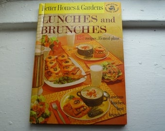 Retro Cookbook, Better Homes & Gardens, Lunches and Brunches