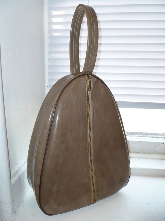 Retro Vinyl Bag, Purse, Shoe Bag, Tote, Luggage