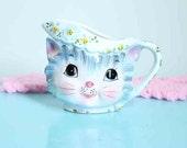 Vintage Miss Priss Kitty Creamer