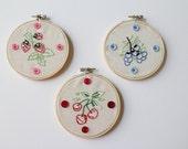 Hand Embroidery Hoop Wall Art